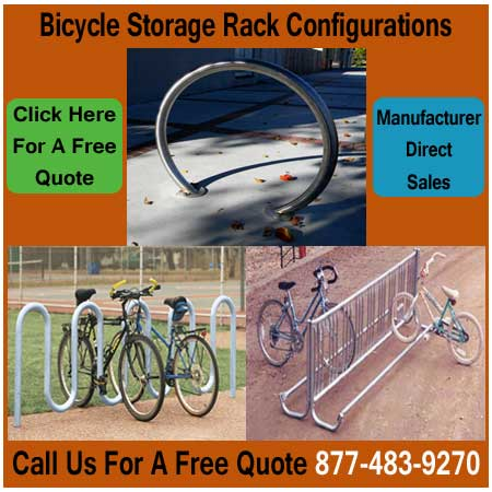 Bicycle-Storage-Rack-Configurations