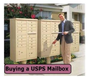 Commercial USPS Post Mounted Mailboxes For Sale Discounted Manufacturer Direct Pricing
