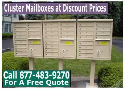 Purchasing Commercial Cluster Mailboxes? What Are The Options? - XPB