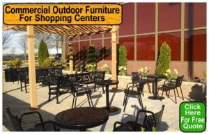 Commercial Outdoor Furniture For Sale Direct From The Manufacturer Saves You Money Today!