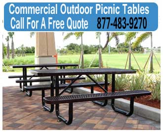 Commercial-Outdoor-Picnic-Tables