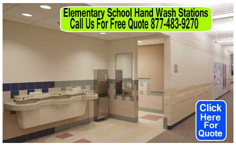 Elementary-School-Hand-Wash-Station
