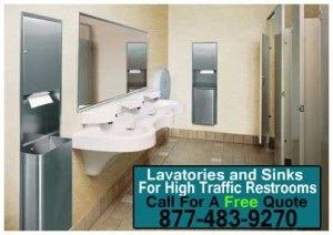 Lavatories-and-Sinks-For-High-Traffic-Restrooms