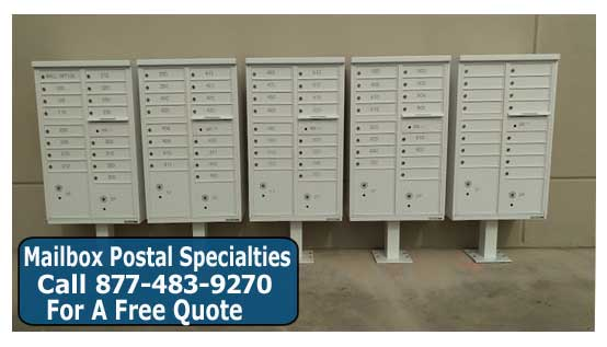 Discount Post Mounted Cluster Mailboxes For Sale At Manufacturer Direct Wholesale Prices!