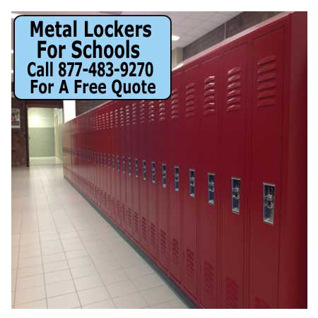 Discount Commercial Metal Lockers For Sale