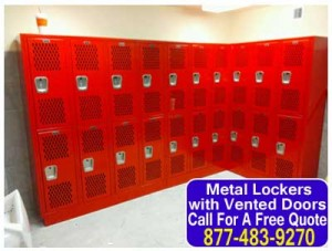 DIY Metal Lockers With Vented Doors For Sale Direct From The Factory Means Low Prices