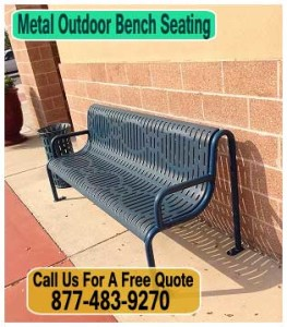 Metal-Outdoor-Bench-Seating