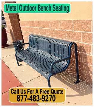 Discounted Metal Outdoor Bench Seating For Sale Direct From The Manufacturer Will Save You Money!