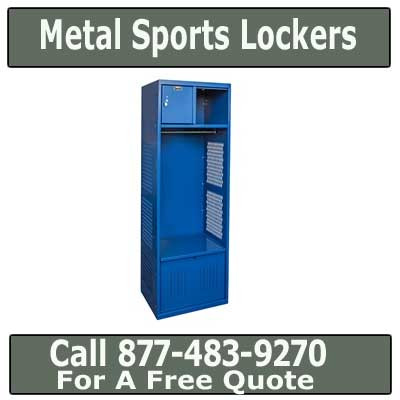 Commercial Heavy Duty Steel Sports Foot Lockers For Sale - Direct From The Manufacturer Pricing