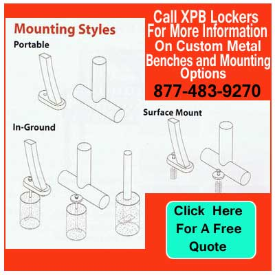 Mounting-Styles-For-Custom-Metal-Benches