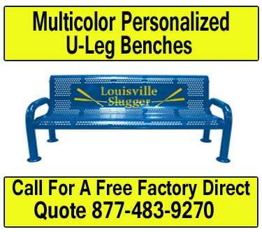 Multi-Color-Personalized-U-Leg-Benches