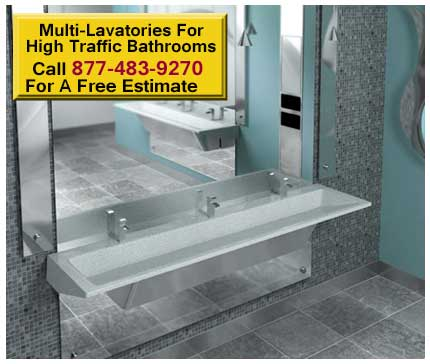 Multi-Lavatories-For-High-Traffic-Bathrooms