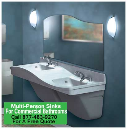 Multi-Person-Sinks-For-Commercial-Bathrooms