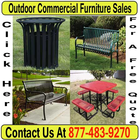 Outdoor Commercial Metal Furniture For Sale Direct From The Manufacturer