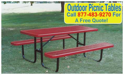 Outdoor-Picnic-Tables