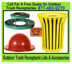 Discount Durable Outdoor Trash Can Lids For Sale Manufacturer Direct Guarantee's Lowest Price!