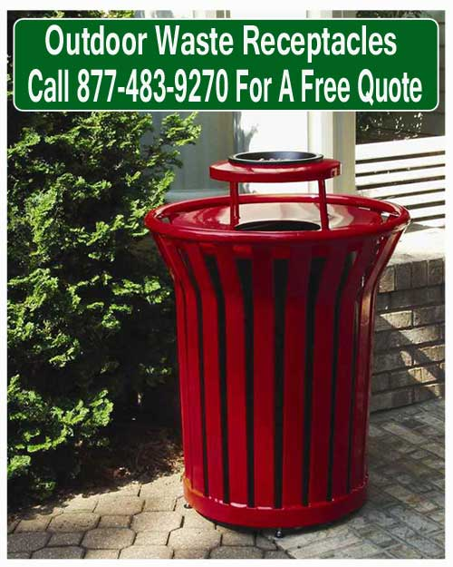 outdoor-waste-receptacles