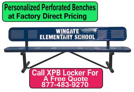 Personalized-Perforated-Benches