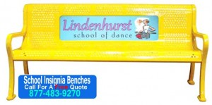 School Insignia Sport Benches For Sale Factory Direct Prices Save You Money Today!