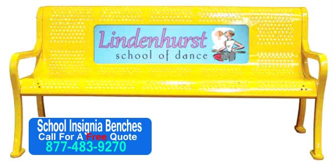 School-Insignia-Benches