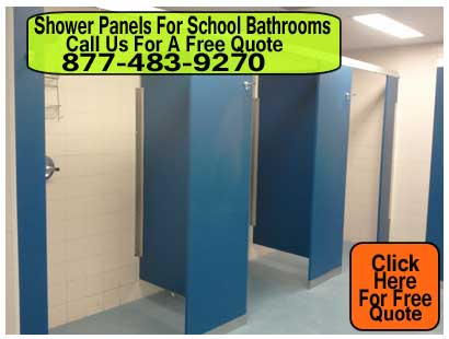 Shower-Panels-For-School-Bathrooms