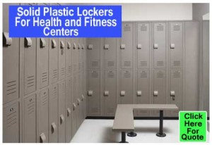 Do It Yourself Solid Plastic Lockers For Health And Fitness Centers For Sale Quick Ship Direct From The Factory