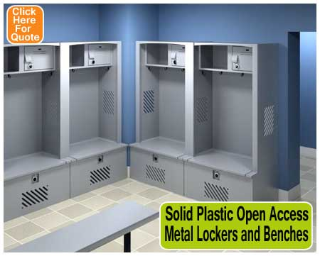 Solid-Plastic-Open-Access-Metal-Lockers-and-Benches