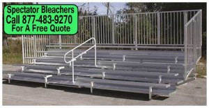 Aluminum Sports Bleachers For Sale Direct From The Factory Saves You Money Today!