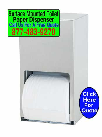 Surface-Mounted-Toilet-Paper-Dispenser