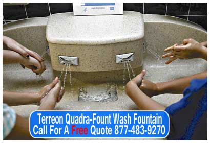 Terreon-Quadra-Fount-Wash-Fountain