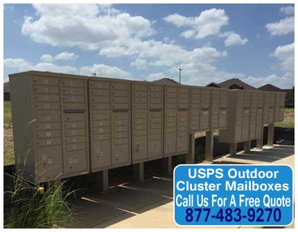 USPS-Outdoor-Cluster-Mailboxes