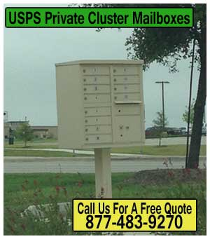 USPS-Private-Cluster-Mailboxes