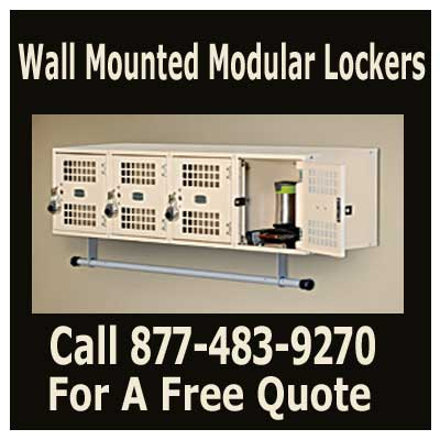 Discount Industrial Grade Wall Mounted Modular Lockers For Sale - Cheap Manufacturer Direct Prices