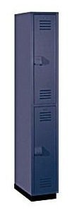 Two Tier Solid Plastic Employee Locker