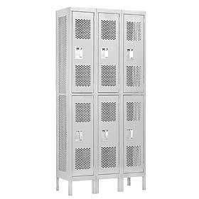 Vented Metal Lockers