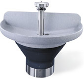 "Terreon®  8 1/2""D Bowl 54"" Semi-Circular Wash Fountains"