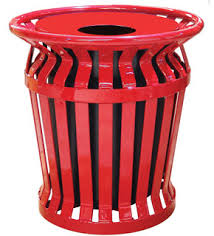 32 Gallon Ring Banded Receptacle