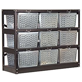 Basket Lockers, Basket Bins, Metal and Plastic Basket Bins Factory Direct
