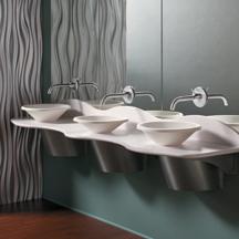 Commercial Lavatories Trough Sinks Bathroom Sinks