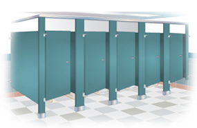 Privacy is a major concern in restrooms for obvious reasons.  We should expect to have the same human dignities in public that we have behind the closed doors of our home.