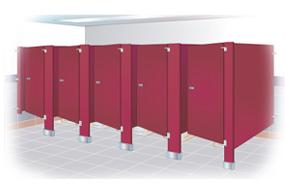 Phenolic Toiet Partitions, Bathroom Dividers, ADA Bathroom Partitions