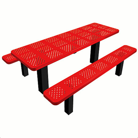 Lifetime-Rectangle-Picnic-Table - Perforated