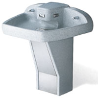 Terreon® Tri-Fount Wash Fountain