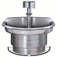 Stainless Steel Semi-Circle Wash Fountain