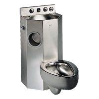 Chase-Mounted-Five-Sided-Stainless-Steel-Combinabtion-Unit