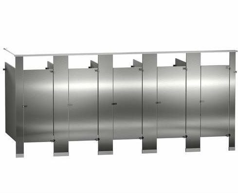 Floor-Mount-Overhead-Braced-Stainless-Steel