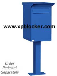 Pedestal-Drop-Box-Blue