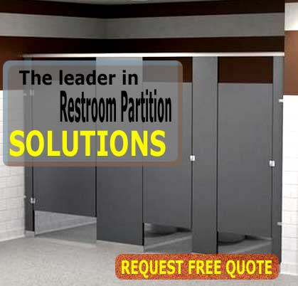 Industrial & Commercial Restroom Partition Sales, Design & Installation Services