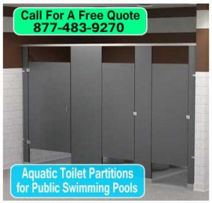 Commercial Aquatic Commercial Restroom Partitions For Public Swimming Pools For Sale Factory Direct Lowest Prices