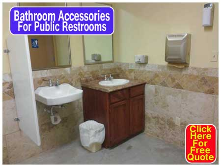 Discount Bathroom Accessories For Public Restrooms For Sale Factory Direct